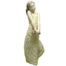 Just To Say More Than Words Girl with Flowers Figurine Ornament 19.5cm 960