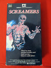 Screamers aka Island of the Fishmen VHS OOP VG-Exc. Barbara Bach Joseph Cotten