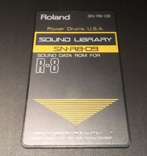 Roland r8 Cartridge Card Power Drums USA