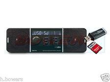 12V/24V CALIBER RMD-213 CAR FM STEREO RADIO USB AUX IN BUILT IN SPEAKERS