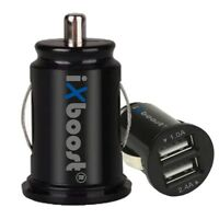 iXboost® iX-3S 3.4A Speed IC Dual USB Auto Ladegerät Zigarettenanzünder Adapter