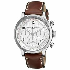 BAUME & MERCIER Capeland Worldtimer AUTO Gents Watch 10106 - RRP £5600 - NEW