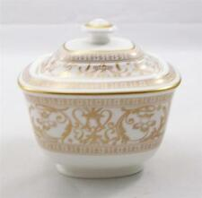 Villeroy & and Boch Heinrich FRESCO GOLD large sugar bowl NEW