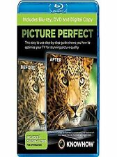 Picture Perfect Blu ray DVD Digital TV Calibration How tol UK Rel Region B New
