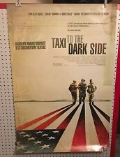 Original Movie Poster Taxi To The Dark Side Double Sided 27x40