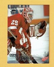 1997-98 Pacific SILVER parallel # 24 Mike Vernon DETROIT RED WINGS GOALIE