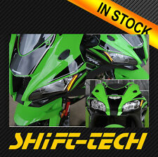 ST1429 KAWASAKI ZX10R 2016 LED FRONT TURN SINGALS + MIRROR BLOCK OFF PLATES