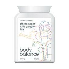 BODY BALANCE STRESS RELIEF ANTI ANXIETY PILL TABLET FEEL HAPPY AND RELAXED FAST