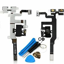 NEW Headphone Jack - Mute Switch Volume Buttons Flex Cable For iPhone 4S & Tools