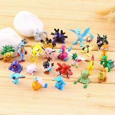 24PCS  Lovely Lots 2-3cm Pokemon Monster Mini Random Figures Toy Party Gifts SM