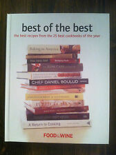 Best of the Best : The Best Recipes from the 25 Best Cookbooks of the Year #4631
