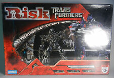 TRANSFORMERS RISK CYBERTRON BATTLE EDITION BOARD GAME FACTORY SEALED *NIP* (2007