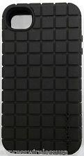 Speck iPhone 4 & 4s PixelSkin Rubberized Silicone Gel case Black SPK-A0792