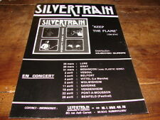 SILVERTRAIN - PUBLICITE DATES CONCERT KEEP THE FLAME !!