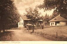 16495 AK Silberhaus Fichtelgebirge Gebäude Holzschuppen Bäume Rasen Zaun um 1920