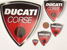 Ducati Corse Monster Hypermotard 748 916 996 999 1198 stickers 5 pcs set in red