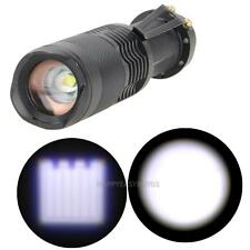 3800 Lumen Zoomable Cree XML T6 Mini LED Flashlight Focus Torch Zoom Lamp Light