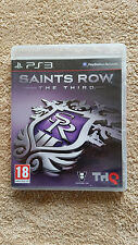 Saints Row The Third PS3 / FR / complet / envoi gratuit