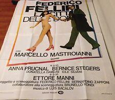 MANIFESTO 4F FEDERICO FELLINI LACITTA' DELE DONNE