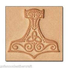 Craftool 3-D Leather Stamp Mjolnir/Thor's Hammer (8676-00)