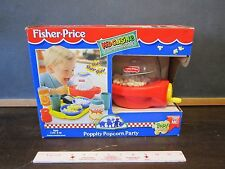 Fisher Price Fun with Food Poppity Pop Popcorn Party popper butter Pretend NEW