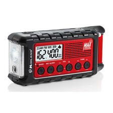 Midland MULTIPLE POWER SOURCE/EMERGENCY RADIO - Internal 2000mAh Li-Ion Battery