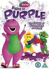 Barney: Paint It Purple [DVD]   Brand new and sealed
