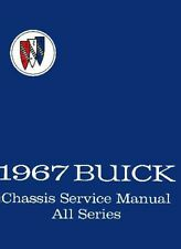 1967 Buick Service Shop Repair Manual Book Engine Drivetrain Electrical Guide OE