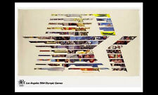 LOS ANGELES 1984 Olympic Games Official IOC Poster Reprint