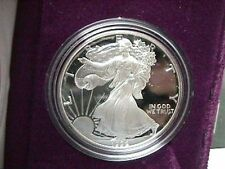 1992 S AMERICAN EAGLE SILVER DOLLAR PROOF