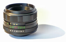 Helios 44 M 2/58 58mm F2   lens - Zeiss Biotar copy Micro 4/3 MTF   full fr