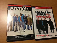 Guy Ritchie films Snatch and Lock, Stock, and Smoking Barrel DVD *like new*