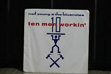 NEIL YOUNG AND THE BLUENOTES PIC SLEEVE 45 RPM RECORD