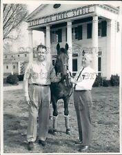 Racehorse Hayes Fair Acres Stable Du Quoin Perry County IL Press Photo