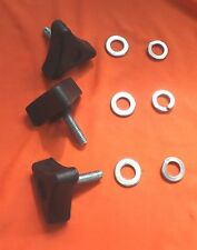 Audi TT Mk.1 Fast Removal Knobs for Battery Cover. No Tools Required. Ver 1