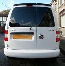 VW Caddy Barn doors roof spoiler PU Plastic painted white or black sportline
