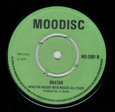 WINSTON WRIGHT & MUDIES ALL STARS - MUSICALLY RED / BRATAH - MOODISC