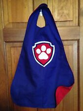 Paw Badge Kids Superhero Cape Costume