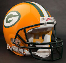 BRETT FAVRE GREEN BAY PACKERS Schutt OPO Football Helmet FACEMASK - DARK GREEN