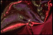 343093 rosso e viola in argento con pieghe Riflettore A4 FOTO STAMPA texture