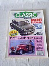CLASSIC AND SPORTSCAR MAGAZINE NOVEMBER 1992 MINI COOPER/ RESTORATION SUPPLEMENT
