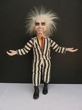 """1989 Kenner Beetlejuice 16"""" Pull String Talking Doll Head Spins Works Great~Cool"""