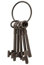 CAST IRON BUNCH OF KEYS - LOVELY DECORATIVE ORNAMENT THAT WILL LIGHT UP THE HOME