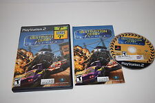 Destruction Derby Arenas Sony Playstation 2 PS2 Game Complete Tested