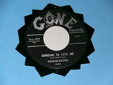 RONNIE BAXTER~ SOMEONE TO LOVE ME~ NEAR MINT~ GATES OF HEAVEN~ GONE ~ DOO WOP 45