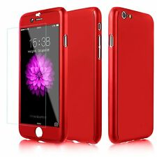 360° Full Protection 3in1 Front+Back Protector Case Cover For iPhone 5 6S Plus