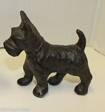 New Cast Iron Scottish Terrier Doorstop Paperweight or Bookends Scotty Dog