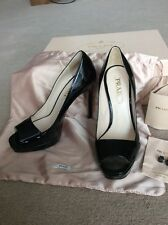 Prada Shoes Size 36.5 With Box Dust Bag PPR£470 Worn Only About 1Hour!