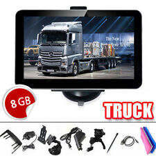 "7"" Truck Car GPS Navigation Navigator SAT NAV Lorry SpeedCam UK EU Free Maps"