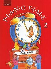Tiempo de piano 2 Pauline Salón Libro De Partituras tutor aprende a jugar Principiante fácil